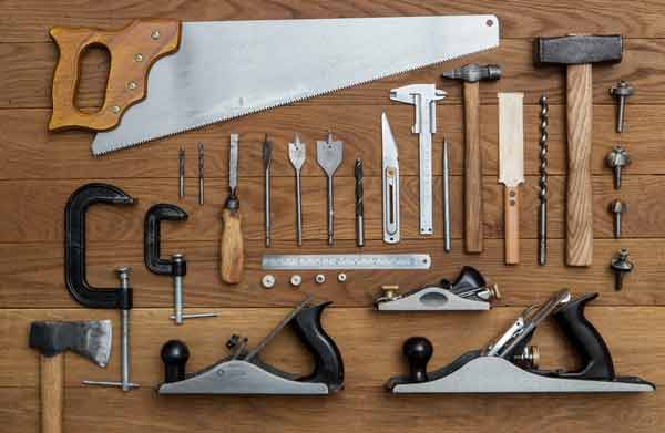 Quality Materials & Tools for Wood Carpentry
