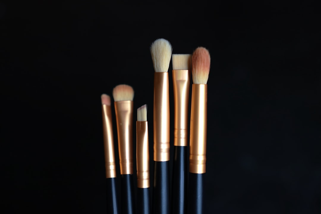 A close up of a brush